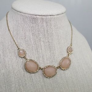 Banana Republic Gold and Peach Necklace